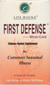 First Defense (cold-style)